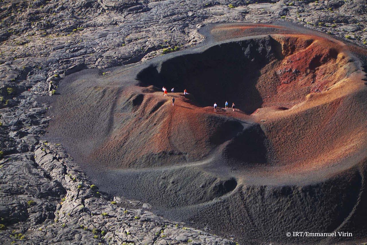 Formica Leo,petit cône volcanique adventif du piton de la Fournaise