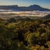 La plaine des Cafres depuis la route du volcan