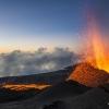 Le piton de la Fournaise éruption Volcan Mai 2015