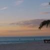 Coucher de soleil dans le sud-ouest de l'île