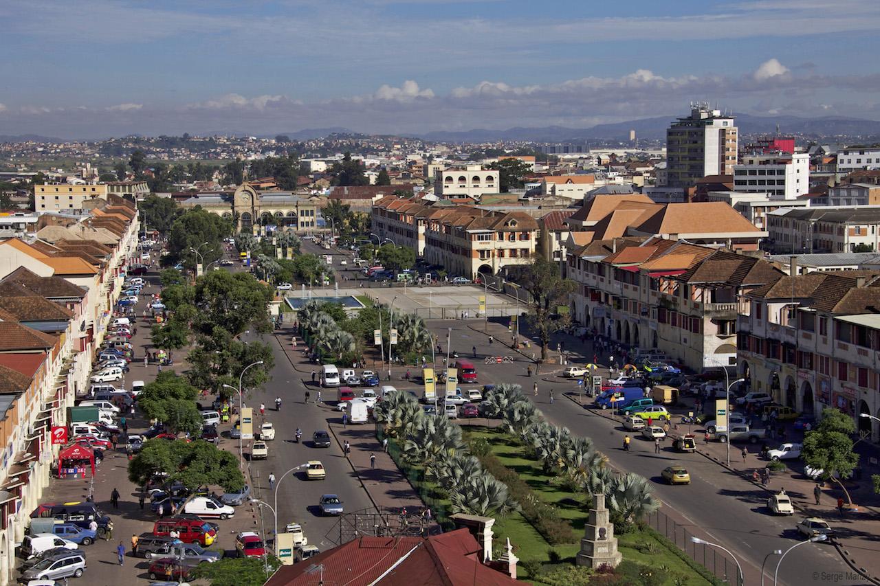 Antananarivo, avenue de l'Indépendance