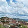 Fianarantsoa au sud de l'île