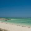 Le lagon aux eaux turquoise caractéristique du sud-ouest de l'île