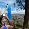 vue sur la ville de Fianarantsoa dans le sud de l'ile