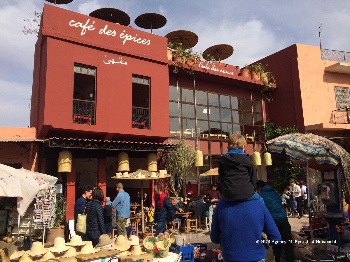 Café des épices à Marrakech