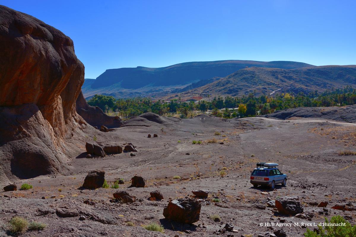 Vue sur Ouarzazate