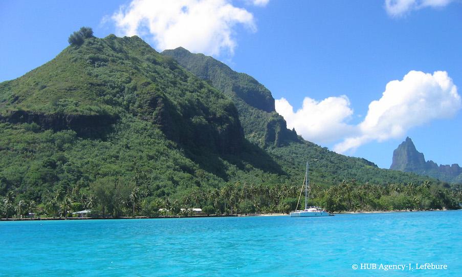 L'île de Moréa