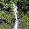 Cascade sur l'île de Tahiti