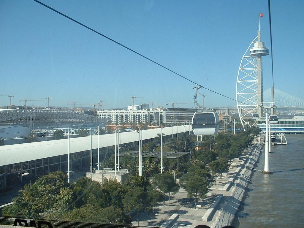 Le parc des nations Expo 98 et le plus grand aquarium au monde.