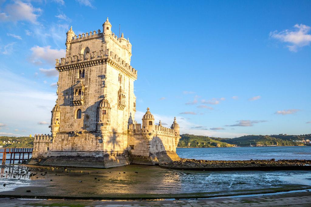 Le quartier de Belem, à l'ouest de Lisbonne, départ des grands explorateurs tel Vasco de Gama.