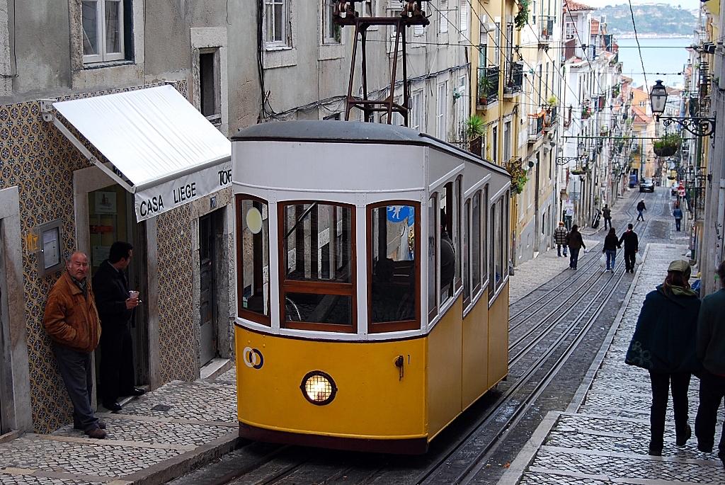 L'incontournable tram de Lisbonne