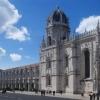 Le monastère des Hiéronymites, Jeronimos en portugais, dans le quartier de Belem à l'ouest de Lisbonne