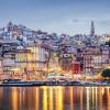 Vue panoramique de la ville de Porto