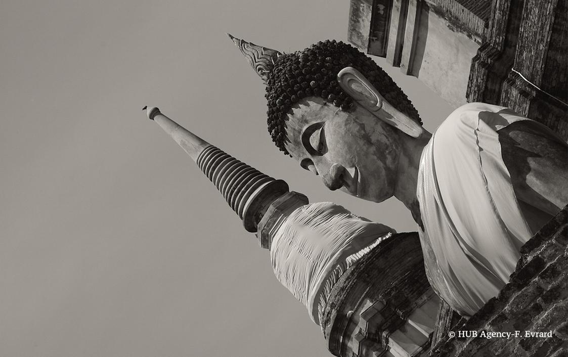 Bouddha assis Wat Yai Chaimongkol