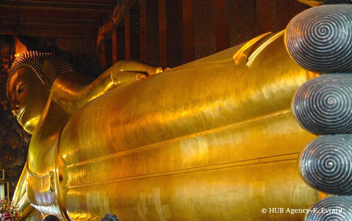 Bouddha couché Wat Po