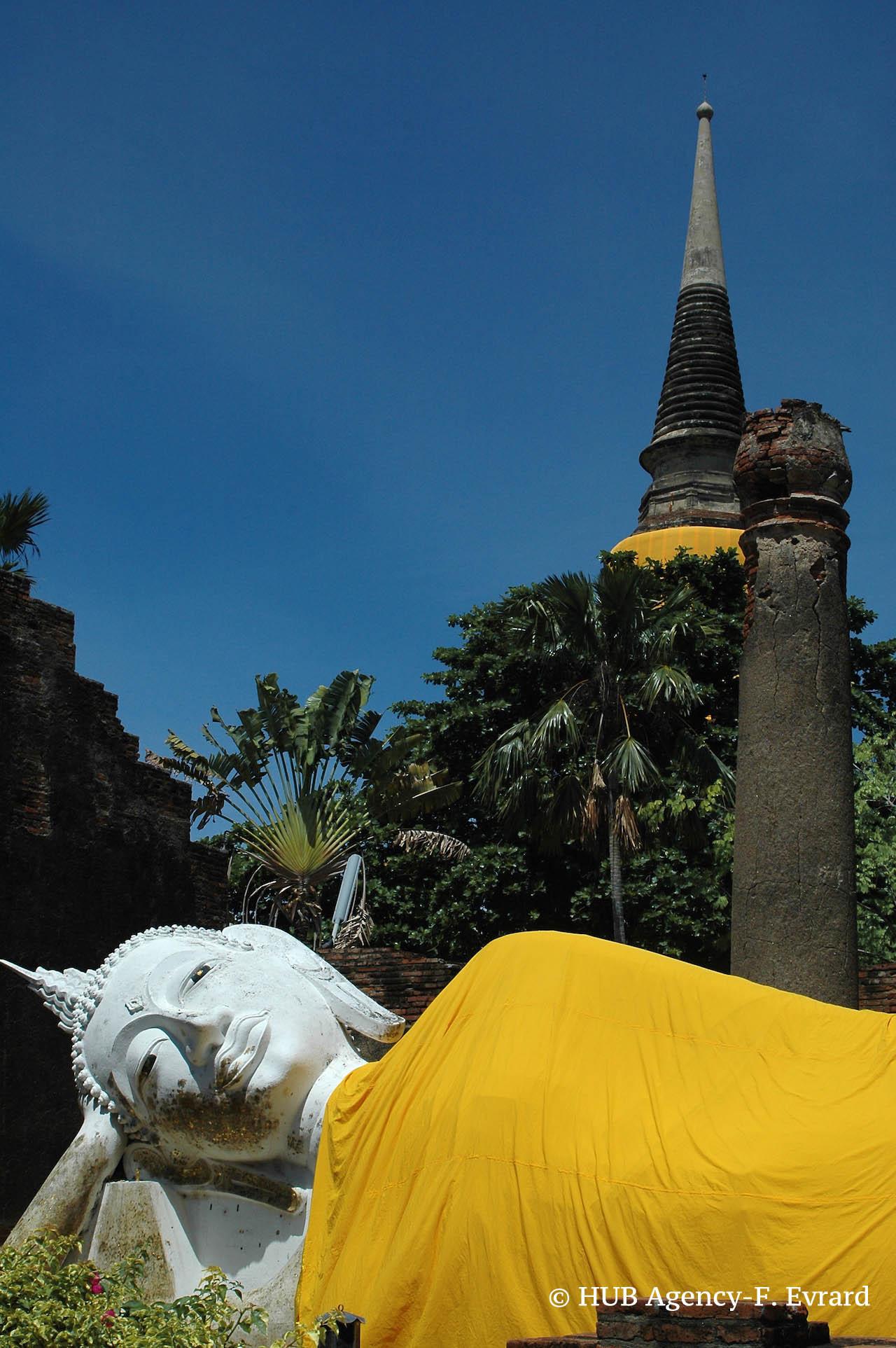 Bouddha couché WAT Yai Chaimongkol