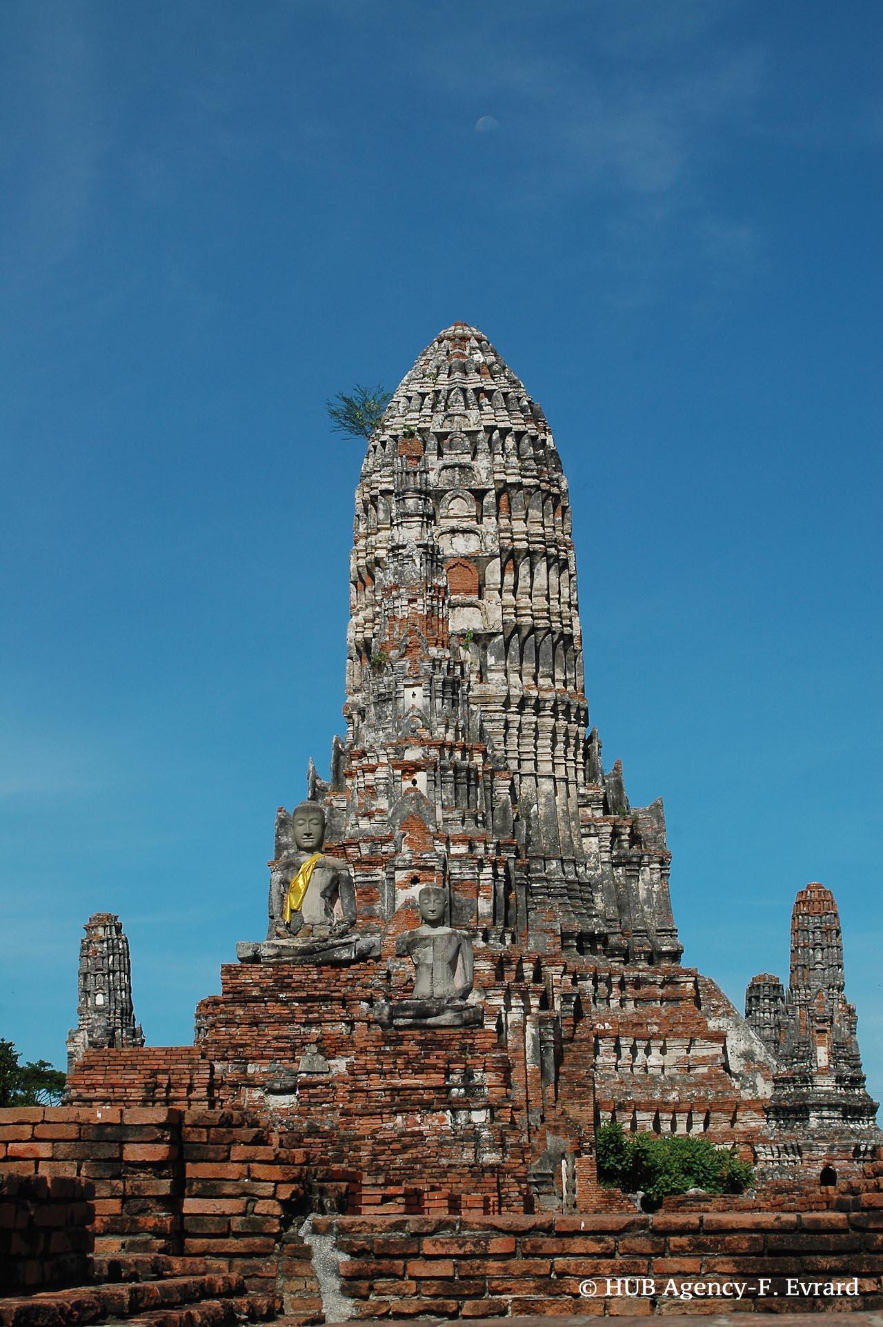 Temple de d'Ayutthaya