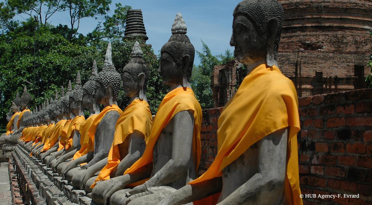 Temple Wat Yai Chaimongkol