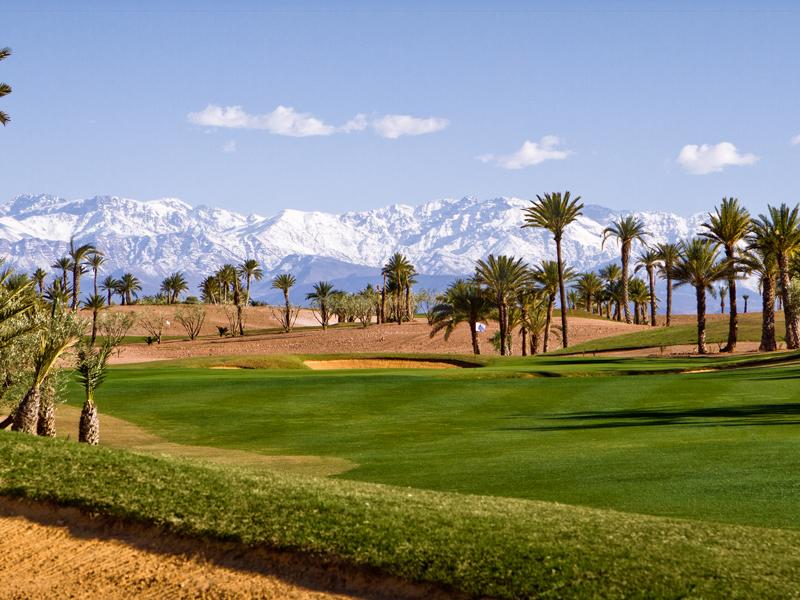 Golf Maroc Atlas Marrakech Assoufid hole 1