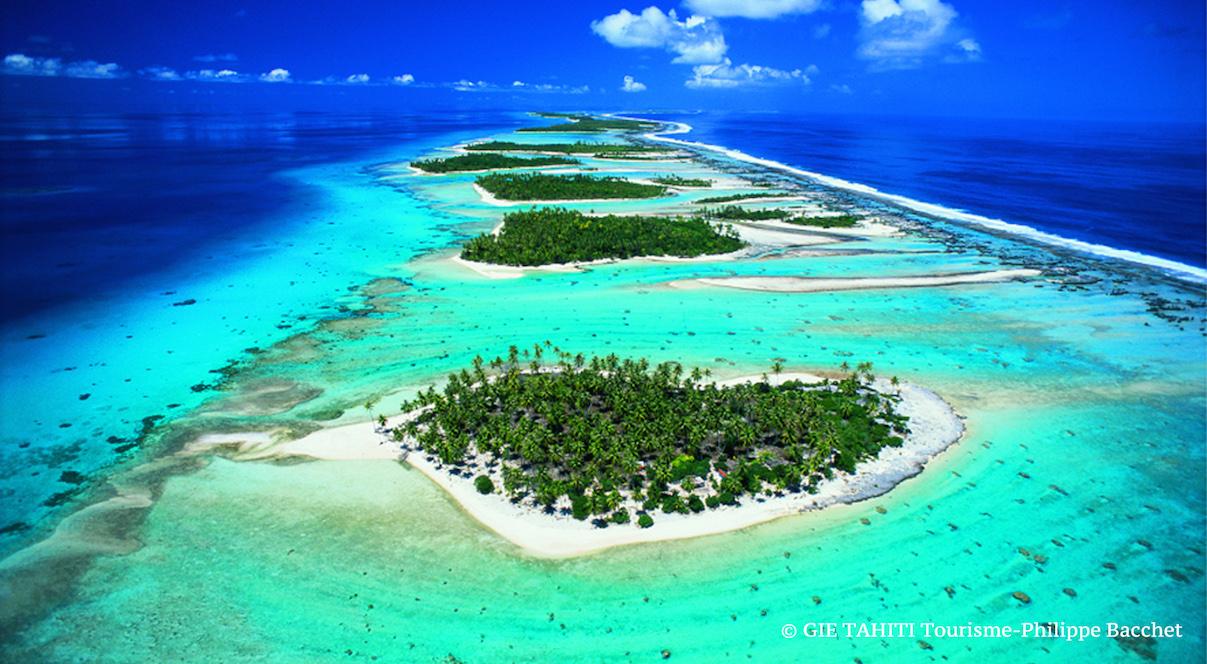 Polynésie francaise Tahiti Atoll de Rangiroa Lune de miel voyage de noce