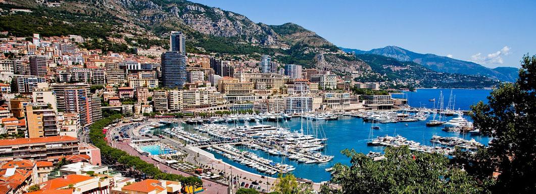 Monaco en hélicoptère city trip